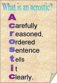 An Acrostic Example from Angelaspoems
