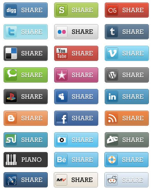 Social Media Share by Wikimedia Commons / Benjamin Reid