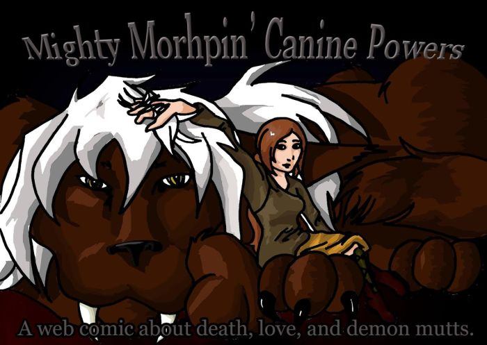 Mighty Morphin Canine Powers
