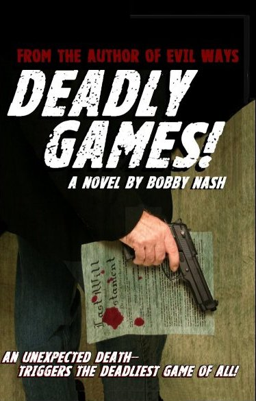 Deadly Games front cover