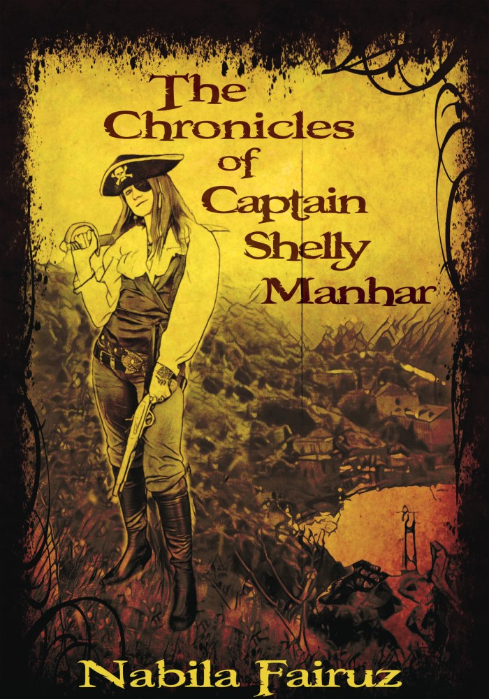 The Chronicles of Captain Shelly Manhar book cover