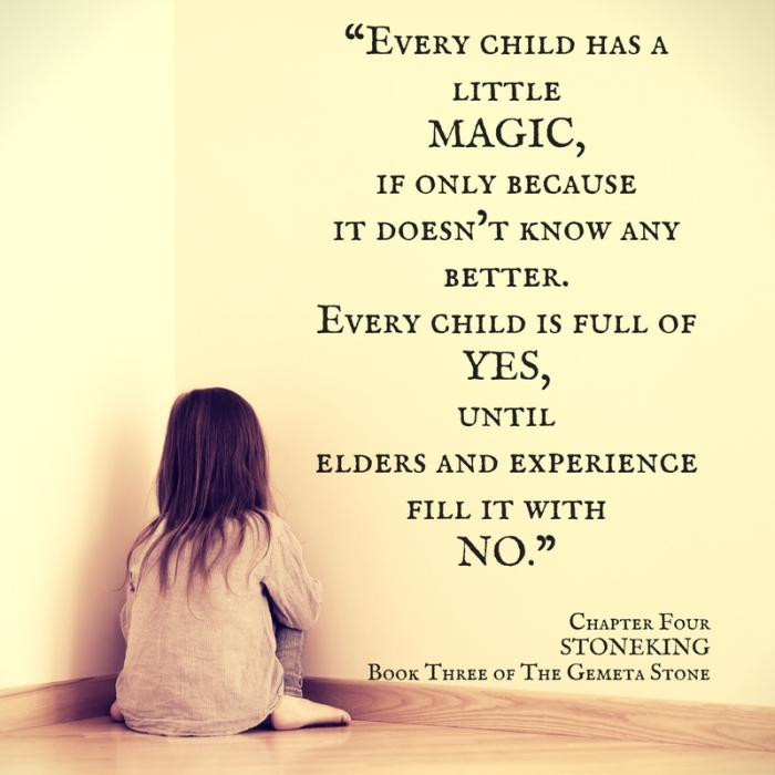 Every child has a little magic