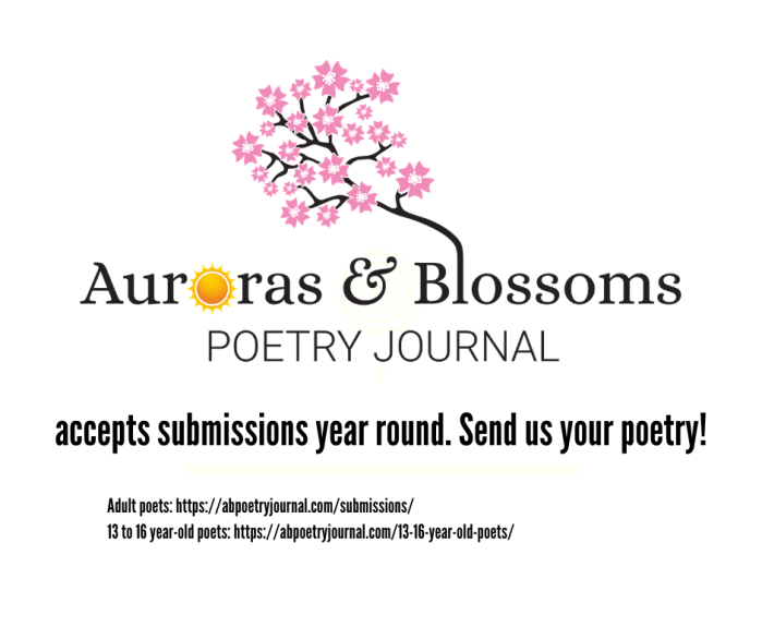 AB Poetry Journal Promo Ad